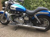 Triumph Bonneville America ultra low mileage - as new