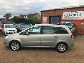 2008 Vauxhall/Opel Zafira 1.8i 16v Design, 7 Seater, **ANY PX WELCOME**
