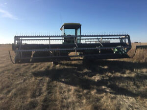 Pick up reel for a swather