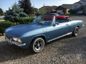 Rare Unique 1965 Corvair Convertible & Hard Top Available