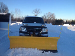 Truck with Plow 4x4
