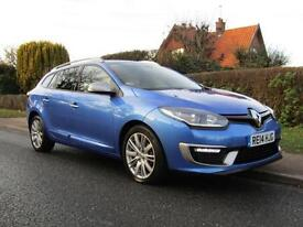 2014 Renault Megane 1.6 dCi GT LINE 5DR TURBO DIESEL ESTATE ** ONLY 3,000 MIL...