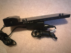 HP UltraSlim Docking Station B9C87AA#AB2 W/ AC Adapter