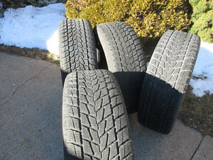 Four snow tires for light truck - P275/65R/18