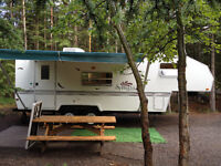 Rent Camp Trailer - No Towing and Setup Hassles !