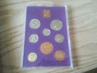 1970 8-Coin British Proof Set GREAT BRITAIN UK