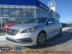 2016 Hyundai Sonata 2.4L SPORT TECH Leather Navigation Sunroof