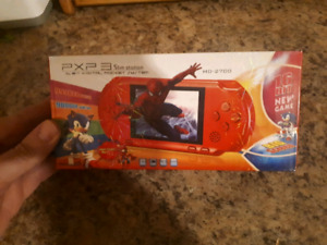 PXP 3 Slim Station Handheld System With 9000 Games!