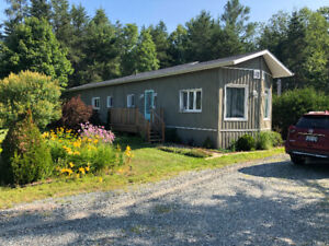 Beautiful Mobile Home in a Beautiful Setting- Massey Ontario