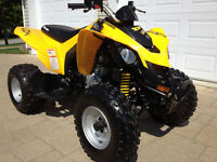 CAN AM DS250, 2008, SEULEMENT 25 HEURES, COMME NEUF