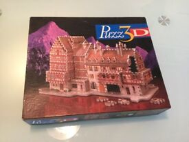 Puzz3D Bavarian Mansion Puzzle Brand New
