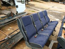 Iveco bus seats.