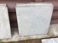 Grey Riven slabs