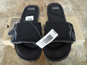 A Pair of BRAND NEW Reebok Men's Slippers