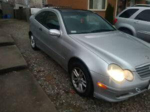 wanting to trade Mercedes Benz c230 kompresser for bike of equal