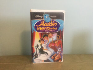 Walt Disney Aladdin & The King of Thieves VHS