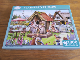 Feathered friends 1000 piece Jigsaw puzzle