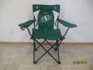 NEW- RIDERS/ OILERS/ FLAMES- FOLDING CHAIRS-$2O EACH