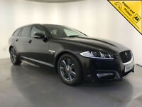 2015 JAGUAR XF R-SPORT DIESEL AUTOMATIC ESTATE 163 BHP 1 OWNER FINANCE PX
