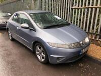 2007 Honda Civic 2.2i-CTDi ( Sat Nav ) DIESEL. IMMACULATE MOT. TAX £30