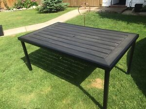 Patio Table (composite) - retailed $500
