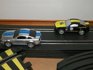 Shelby Mustang Slot Car Track