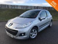 2010 PEUGEOT 207 VERVE 1.4 8V 75PS - 67K MILES - F.S.H - 5 STAR SAFETY - 6 MONTHS WARRANTY