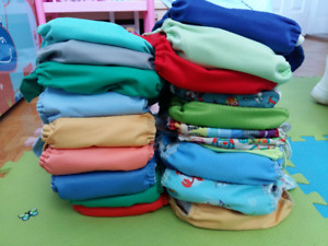 20 cloth diapers