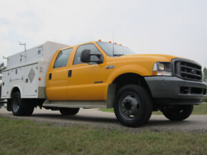 2003  F450 DUALLY 4BY4 WITH 7.3