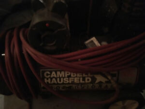 CAMPBELL HAUSFELD 20 GALLON COMPRESSOR & AIR TOOLS