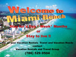 Vacation Apartments in Miami Beach and the Beach Area