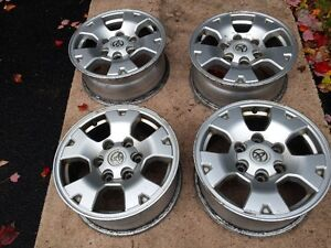 ORIGINAL TOYOTA TRUCK 16 INCH STYLED STEEL ALLOY RIMS