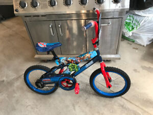 MARVELS AVENGERS 16 INCH CHILDREN'S BICYCLE