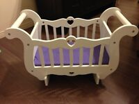 Melissa and Doug doll cradle
