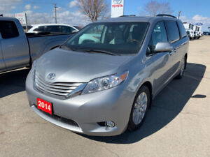 2014 Sienna XLE Limited Package