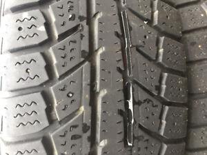 4 pneus 13 po 175/70R13