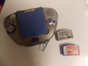 Leapster Leapfrog System w/2 cartridges