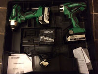 HITACHI 18V (2016 model)Cordless Combo Kit ,FOR SALE