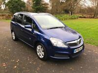 2006/06 Vauxhall/Opel Zafira 1.9CDTi (120ps)Diesel 5dr 7 Seat 'Active' BLUE