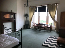 1 double room available in a 4 bedroom flat - west end, kelvingrove