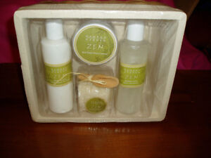 Bamboo Garden Zen Bath Set New