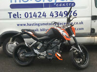 KTM Duke 125 ABS / Learner Legal Street Fighter / Nationwide Delivery / Finance