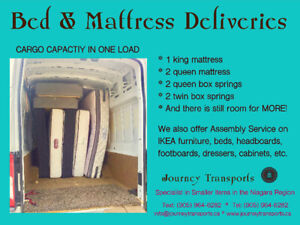 Bedroom sets and mattresses picked up and delivered