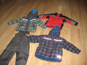 Boy 6 Snowsuit (Gusti) and Jackets
