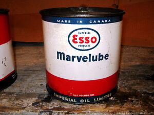 Esso Marvelube Grease Tins Regina Regina Area image 3