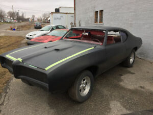 Fibreglass GTO clone project car
