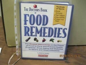 DOCTOR'S BOOK OF FOOD REMEDIES Oakville / Halton Region Toronto (GTA) image 1