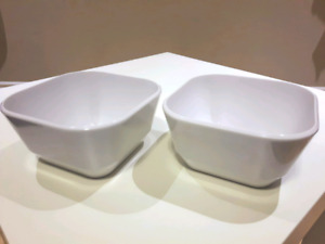 Super Strong Durable Square Melamine Bowls (2)