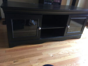 Entertainment wood cabinet for sale