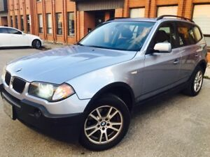 2006 BMW X3 2.5i  fully Loaded - lady driven